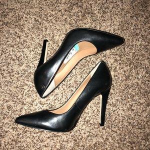 Women's Calvin Klein Black leather heels